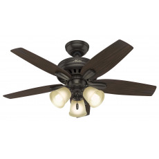 Hunter Newsome 42 with 3 Light Ceiling Fan Manual 1