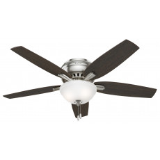 Hunter Newsome 52 Hugger with Bowl Light Ceiling Fan Manual 1