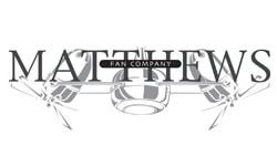 matthews ceiling fan company logo