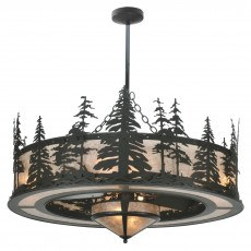 Meyda Tiffany 44″ Tall Pines Chandel-Air w/Fan Light Ceiling Fan Manual 1