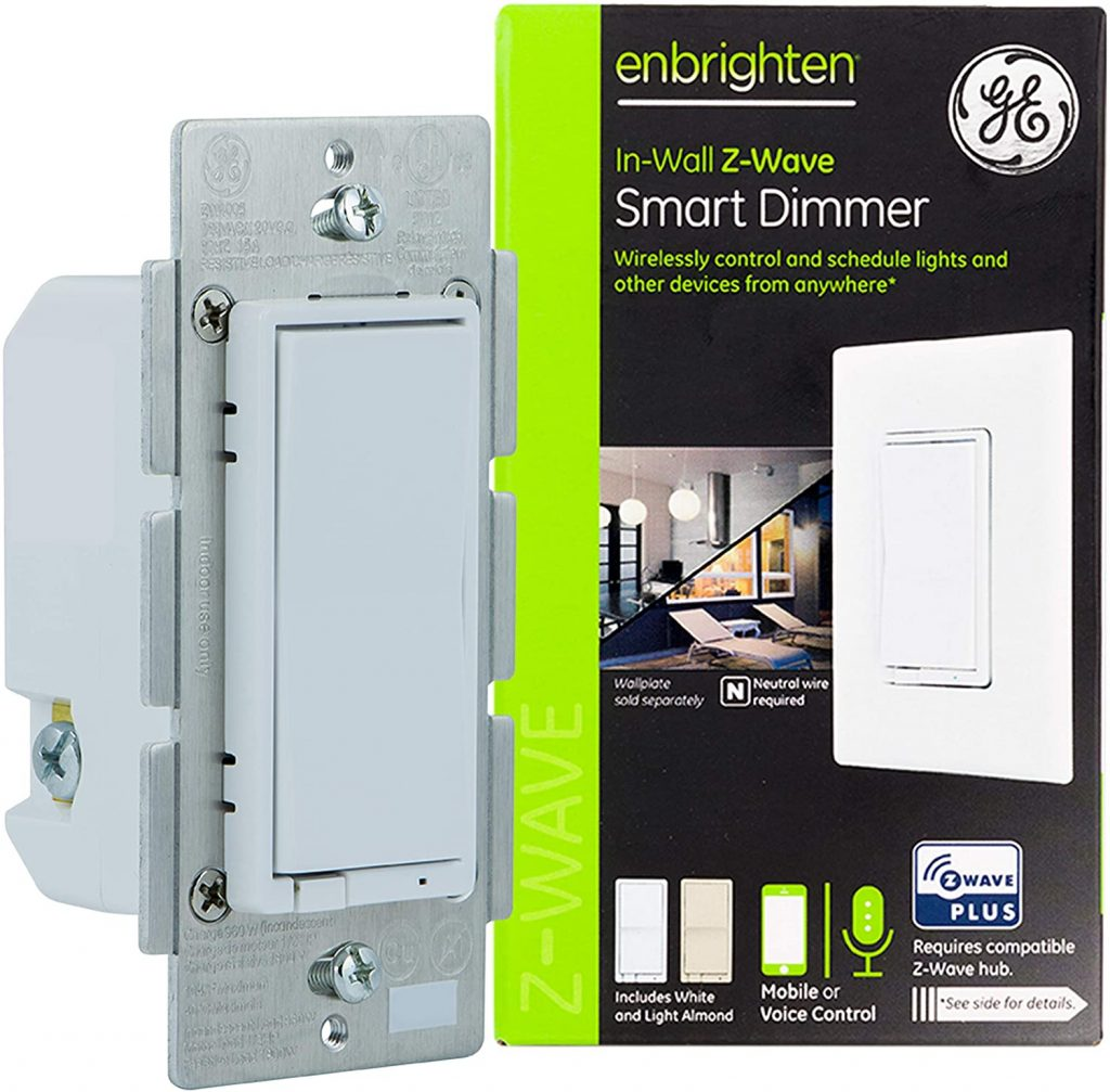 GE Enbrighten Z-Wave Plus Smart Light Dimmer