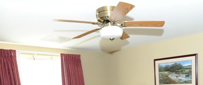 low profile ceiling fans