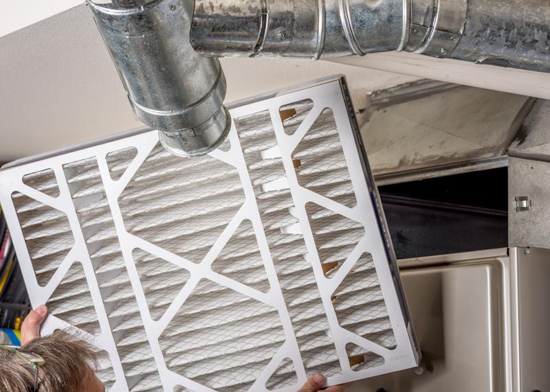 Furnace filter install