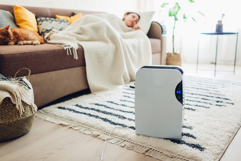 sleeping with air purifier running